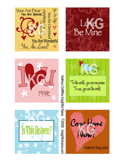 graphic about Printable Love Note identified as Totally free Printable Appreciate Notes For Your Valentine Instructive Nana