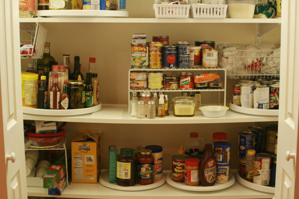 Kitchen pantry organization insightful nana for Organization ideas for kitchen pantry