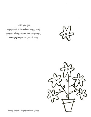 Print The Free Mothers Day Cards On 85 X 11 Paper Fold In Half And Again Downloads May Take A Few Minutes So Be Patient