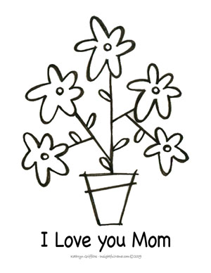 print the free mothers day printables on 85 x 11 paper again the downloads may take a few minutes so be patient - Free Mothers Day Coloring Pages