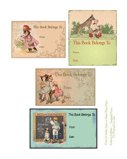 vintagebookplates1