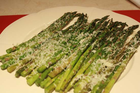 On Plate That S It An Easy Asparagus Recipe