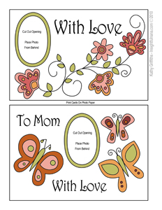 picture about Printable Mothers Day Cards to Color named printable Moms Working day playing cards Educational Nana